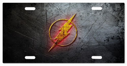 DC+Comics Products : The Flash DC Comics G5v4 Vanity License Plate