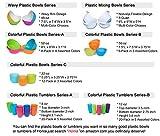 56-oz Plastic Pasta/Salad Bowls,Set of 6 in 3