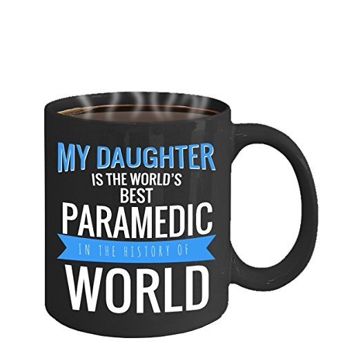 [PARAMEDIC MUG ~ best birthday gift for some one into critical care paramedic, flight paramedic certification, drug guide for paramedics, women/men- tea cup- - Black 11 Oz Novelty Coffee] (Prescription Novelty Contact Lenses)