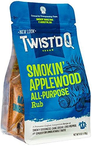 Twist'd Q - Smokin' Applewood All Purpose Rub - American Royal - Smokin' Hoggz BBQ