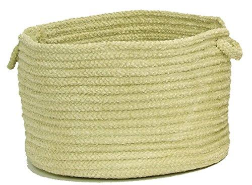 Seascape Utility Basket, 18 by 12-Inch, Lemongrass Green