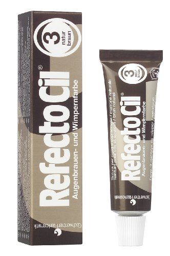RefectoCil Cream Hair Dye (NATURAL BROWN) .5oz