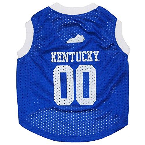 University Kentucky Jersey - University of Kentucky Mesh Jersey Dog Tank (Small 8
