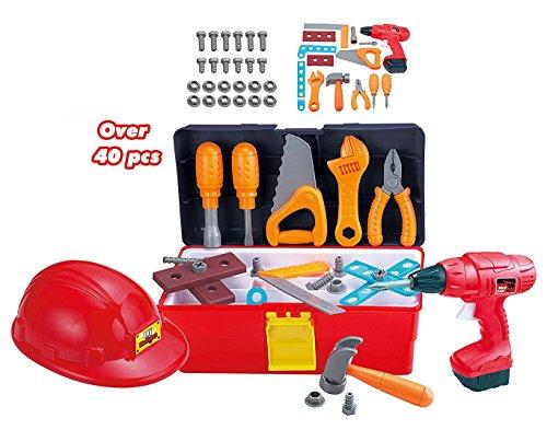 Toolbox Construction Workshop Pretend Accessories