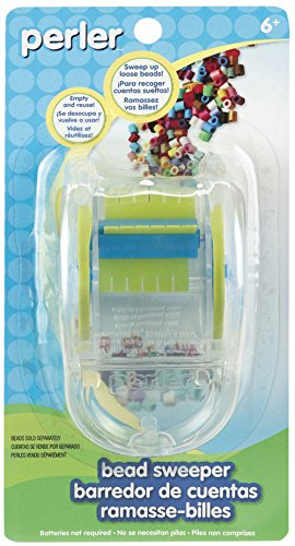 Perler Beads Craft Bead Sweeper for Easy Clean Up (Best Irons For Sweepers)