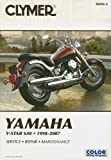 img - for Clymer Yamaha V-Star 650, 1998-2007 (Clymer Motorcycle Repair) by Jay Bogart (2007-07-19) book / textbook / text book