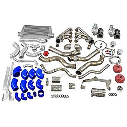 Amazon.com: Twin Turbo Manifold Header Intercooler Kit for 67-69 Chevrolet Camaro LS1: Automotive