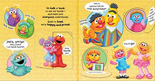 Sesame Street: Celebrate You! Celebrate Me!: A Peek and Touch Book (123 Sesame Street)