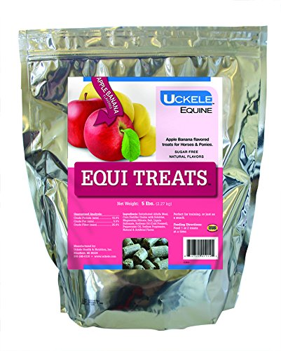 Horse Health Horses Treats - Uckele Equi Treats 5 lb Apple/Banana