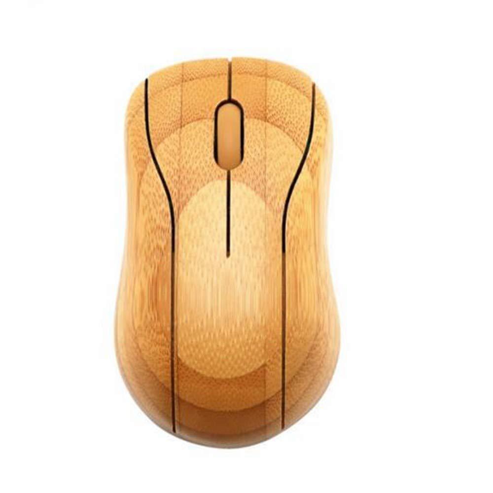 Ratón Inalámbrico De Bambú