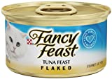 Fancy Feast Gourmet Cat Food, Flaked Tuna Feast, 3-Ounce Cans (Pack of 24), My Pet Supplies