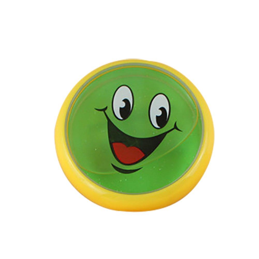 Amazon.com: Braceus Emoji Smiling Face Pattern Crystal Slime ...