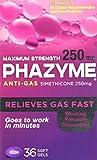 Phazyme Maximum Strength Softgels - 250 mg - 36 ct