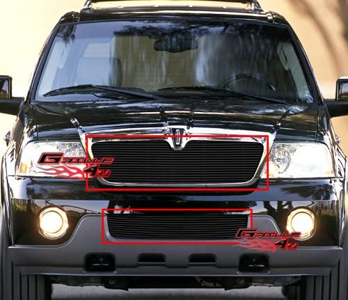03 04 2003 2004 Lincoln Navigator Billet Grille Combo