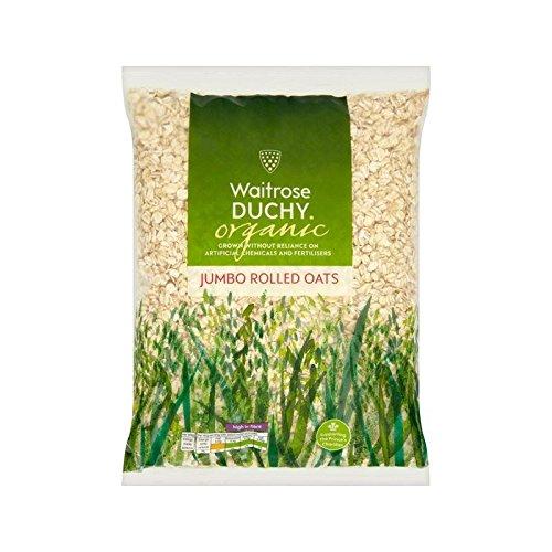 Duchy Waitrose Organic Jumbo Rolled Oats 1kg - Pack of 2 by Duchy from Waitrose