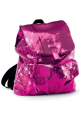 Urban Groove Sequin Dance Bag Cheer Gymnastics Pageant Travel Backpack Fuchsia ONE SIZE