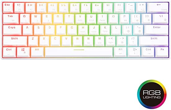Keyboards Clavier mécanique sans Fil Bluetooth Gaming