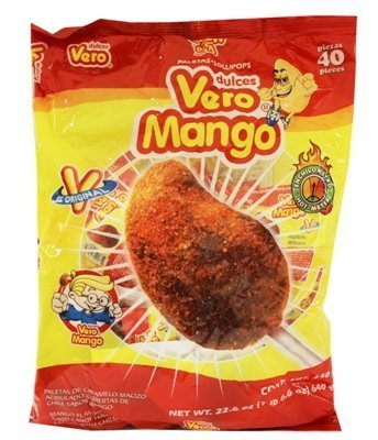 Vero Mango With Chile - Bag 40ct(4 Packs) by Vero Mango With Chile - Bag - Store Chile Online