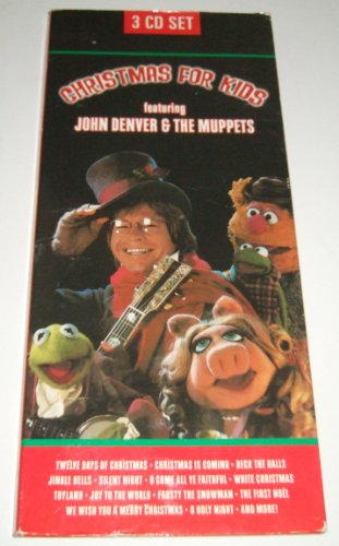 Christmas for Kids Featuring John Denver and the Muppets 3 CD set (John Denver & The Muppets A Christmas Together)