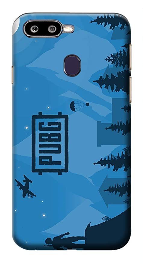 Mott2 Back Case for Oppo F9 Pro -Pubg Video Game Theme: Amazon in