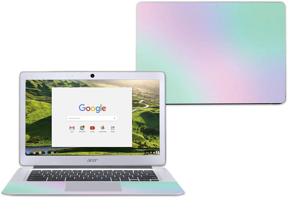 "Mightyskins Skin Compatible with Acer Chromebook 14"" Cb3-431 - Cotton Candy 