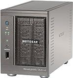 NETGEAR RND2000-200EUS ReadyNAS Duo 2 Bay Personal Cloud Network Attached Storage (Diskless), iTunes Server, Plex Server, DLNA Media Streaming and RAID