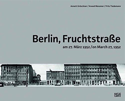 Berlin, Fruchtstraße am 27. März 1952 / on March 27, 1952