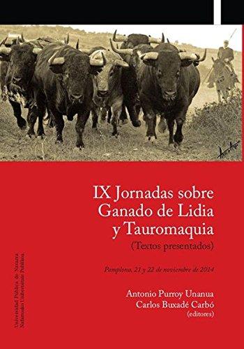 Descargar Libro Ix Jornadas Sobre Ganado De Lidia Y Tauromaquia Aa.vv.