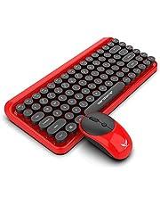 لوحة مفاتيح متعددة الوسائط اللاسلكية من FanTing، أزرار مريحة عالية الجودة وتصميم مفتاح التعليق، بسيطة وجميلة، مقاومة للماء -