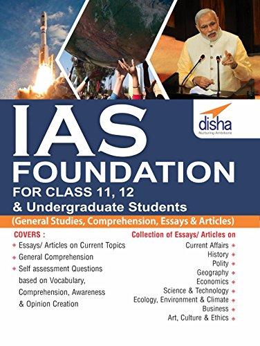 IAS Foundation For Class 11 12 Undergraduate Students General Studies Comprehension