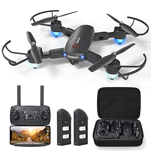 GPS Drone with 4K Camera for Adults, Dual Camera 5G WiFi FPV Live Video Foldable Drone 30mins Flight Time,120°Wide-Angle…