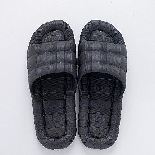 zzhf femenina Verano de interior de rutschige Zapatillas de baño Cuarto de baño casa ausgelaufen pares de zapatillas Home plástico Hohlen Cool Zapatillas (10colores opcional) (tamaño opcional) Zapati J