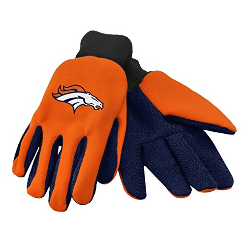 - Forever Collectibles 74232 NFL Denver Broncos Colored Palm Glove