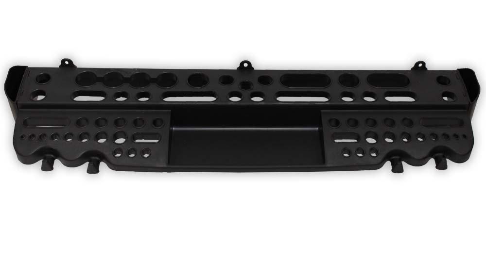 Toolusa 25''x 6.5'' Wall Mountable, Plastic Tool Display Rack For Garage Or Work Shop: Mj-03073