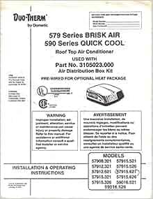 dometic rv air conditioner manual