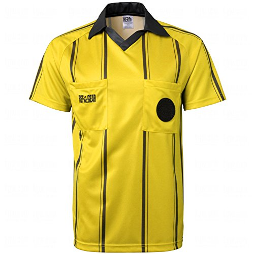 - Goal Sporting Goods Mens Official Starter Referee Jersey Large Yellow