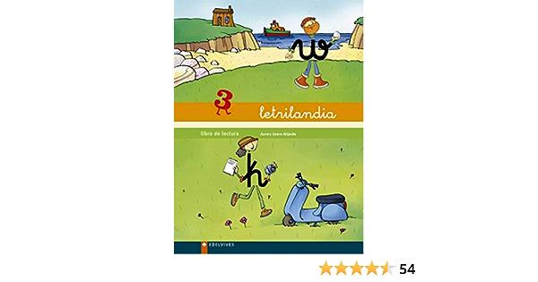Letrilandia 3 Libro De Lectura 9788426355850 Books Amazon Ca