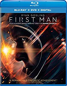First Man Blu-ray + DVD + Digital