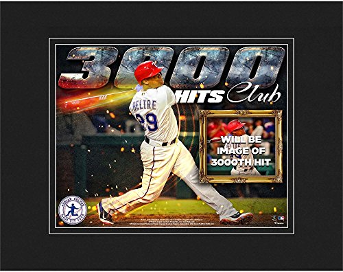 "Adrian Beltre Texas Rangers 8"" x10"" 3,000th Career Hit Matted Photograph - Fanatics Authentic Certified"