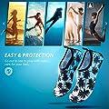 SIMARI Womens Mens Water Shoes Quick-Dry Aqua Socks Barefoot Outdoor Beach Swim Surf Yoga Exercise SWS001