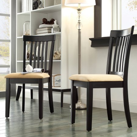 Amazon.com - Lexington Mission Style Dining Chairs, Set of 2 ...