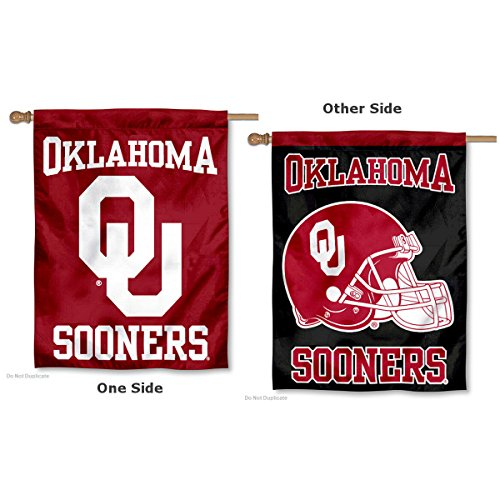 College Flags and Banners Co. University of Oklahoma Double Sided House Flag