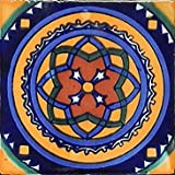 40 Mexican Talavera Tiles Hand Painted 6''x6'' Stairs Backsplash