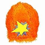 Hip and Hop Yo Gabba Gabba Orange Star Hat Birthday Party Headwear Wearable Accessory Favour 10 x 11