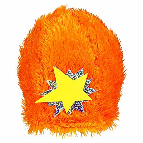 Hip and Hop Yo Gabba Gabba Orange Star Hat Birthday Party Headwear Wearable Accessory Favour, 10