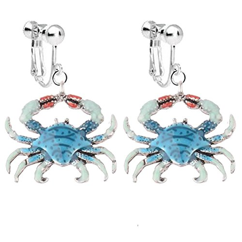 animal clip on earrings - 7