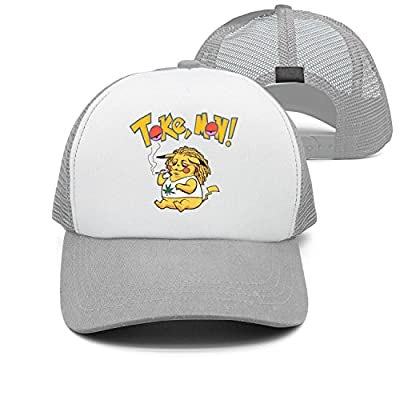 RTwkvv Marijuana Cannabis smkoing Cartoon tokemon Colorful Cool Snapback Cap Baseball Trucker Hats
