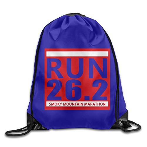 Smoky Mountain Marathon 2016 Tennessee Running Drawstring Backpack GYM Bag