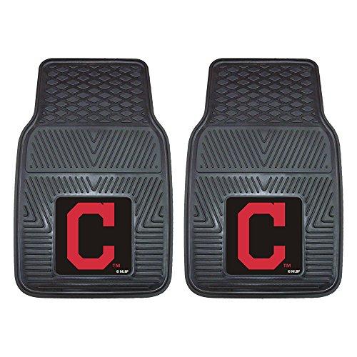 FANMATS MLB Cleveland Indians Vinyl Heavy Duty Car Mat