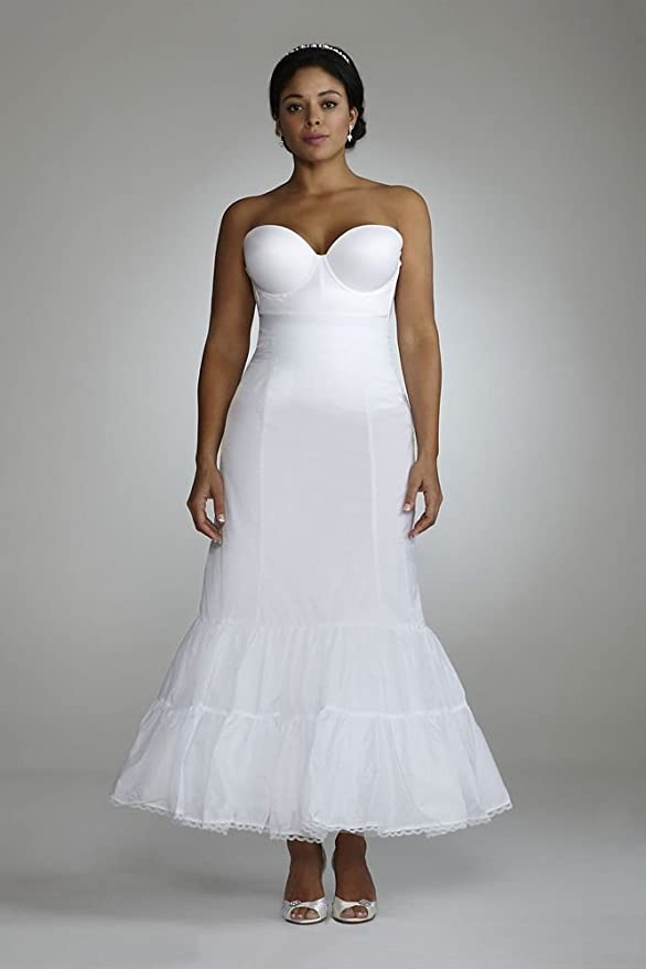 Plus Size Full Fit and Flare Bridal Slip Style 9550W at Amazon ...